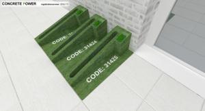 concrete power code voor aanmelden