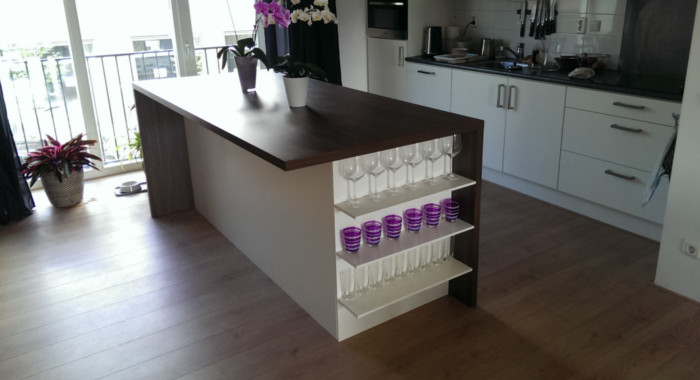 Kookeiland – Architectuurstudio Breda